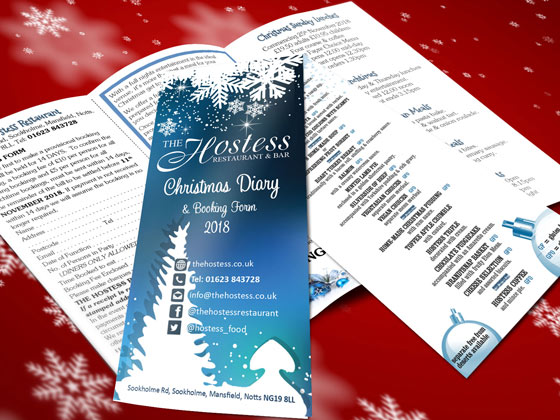 christmas booking form