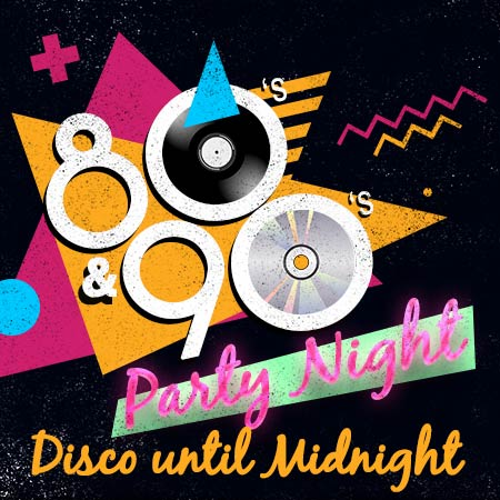 80s 90s party night