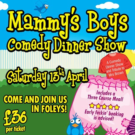 mammy's boys comedy dinner show