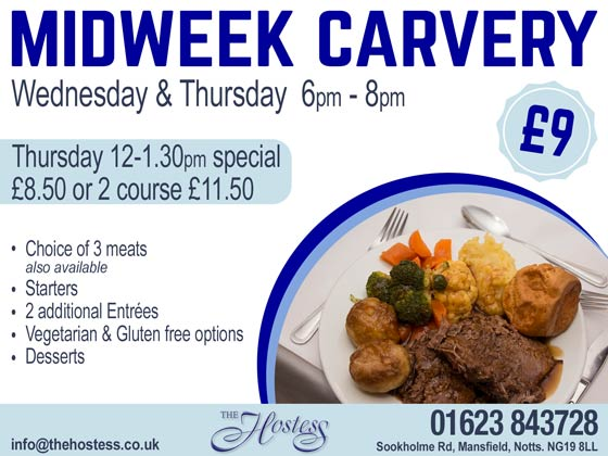 Hostess carvery